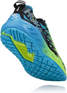 Hoka One One Clayton 2 Bright Green Black Blue 46.5: Amazon.es: Zapatos y complementos