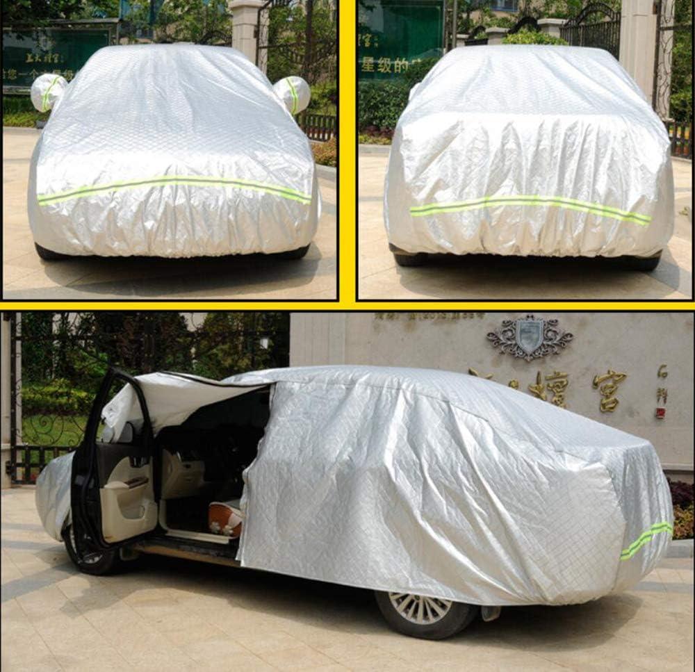 HRF0HLHY Telo copriauto Personalizzato Compatibile con Le Serie Volvo: XC40 XC90 XC60 S90 S40 V90,Argento,XC40 V70 XC70 S80 V60 V40 S60