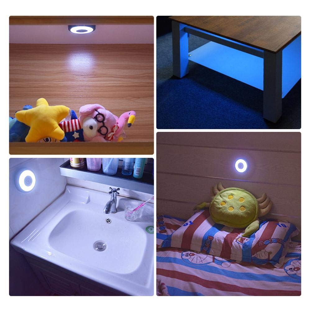 Car Interior Light Diameter 10CM1.2CM USB Charged Roof Ceiling Dome Light Interior Reading Lamp For Campervan Motorhome Boat Kitchen Living Room Car Reading Light LED Interior Lamp Ceiling Lamp