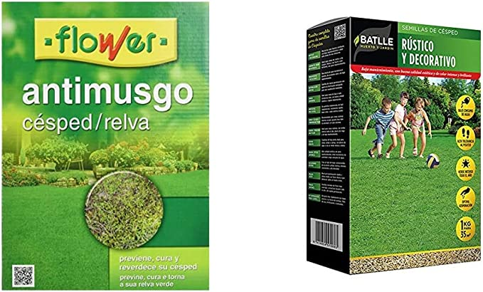 Flower 40508 40508-Anti-musgo césped, 1 kg, No aplica, 18x7x25.5 cm: Amazon.es: Jardín