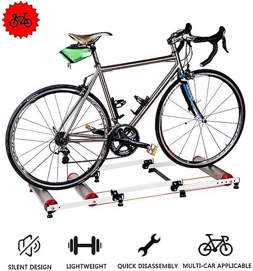 Bicicleta Trainer soporte para bicicletas rodillos de plegado ...