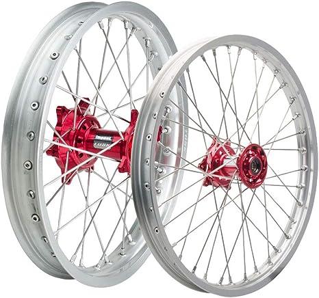 """Rear 19/"""" Silver Tusk Motorcycle Spoke Kit"""