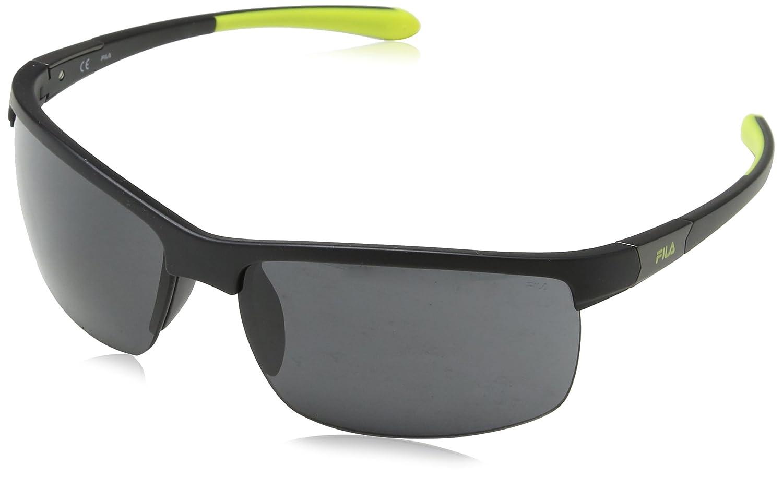 Fila Gafas de Sol para Hombre, Negro (Semi-Matt Black), 69: Amazon.es: Ropa y accesorios