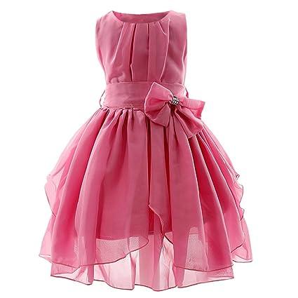 JYJM - Vestido de princesa para niña, estilo casual, para fiesta, dama de
