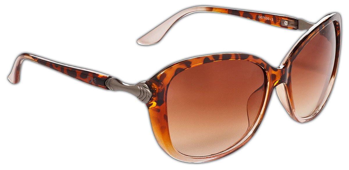 Dice Damen Sonnenbrille, dark brown, One size, D07530-2