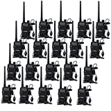 20 Pack BaoFeng 5W UV-5R 128 Channel Dual Band Two Way Radio