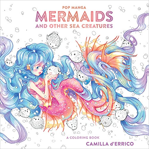 Pdf Crafts Pop Manga Mermaids and Other Sea Creatures: A Coloring Book