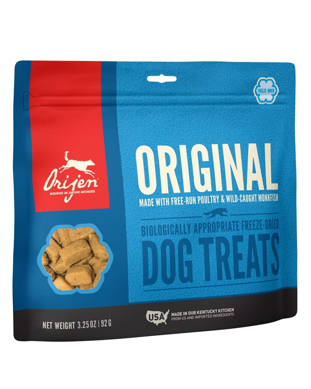 ORIJEN Freeze-Dried Dog Treats, Original, Biologically Appropriate & Grain Free by Orijen