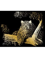 ROYAL BRUSH Gold Foil Engraving Art Kit 8inX10in-Baby Dragon Fabric