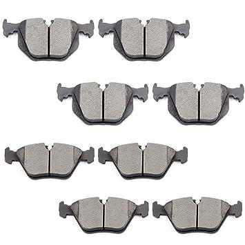 For 2001-2006 BMW 330Ci Brake Pad Set Rear API 71378JY 2002 2003 2004 2005