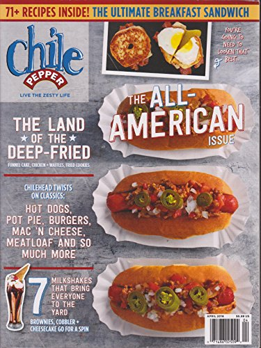 Chile Pepper Magazine April 2016