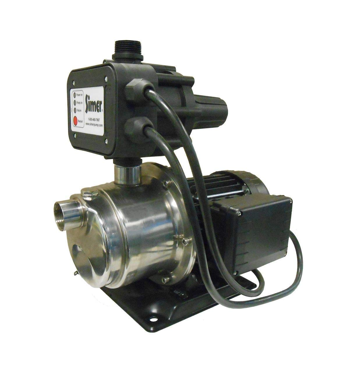 Simer 4075SS-01 3/4 HP Pressure Booster Pump