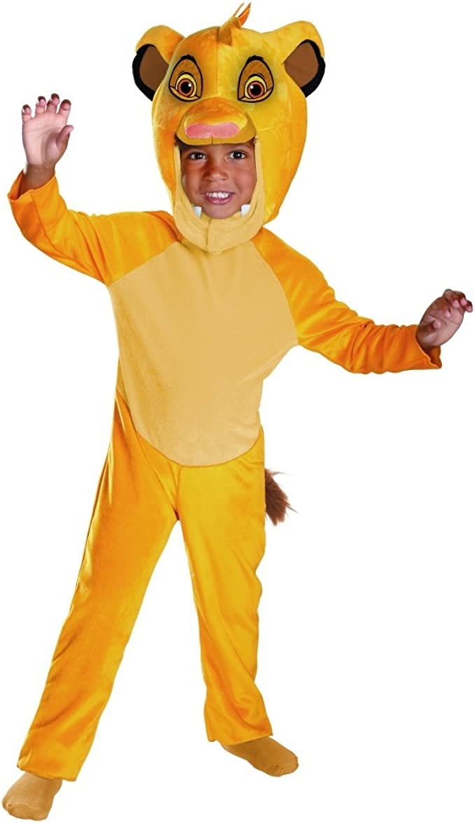 Amazon.com: Disfraz de Simba Classic para bebé: Clothing