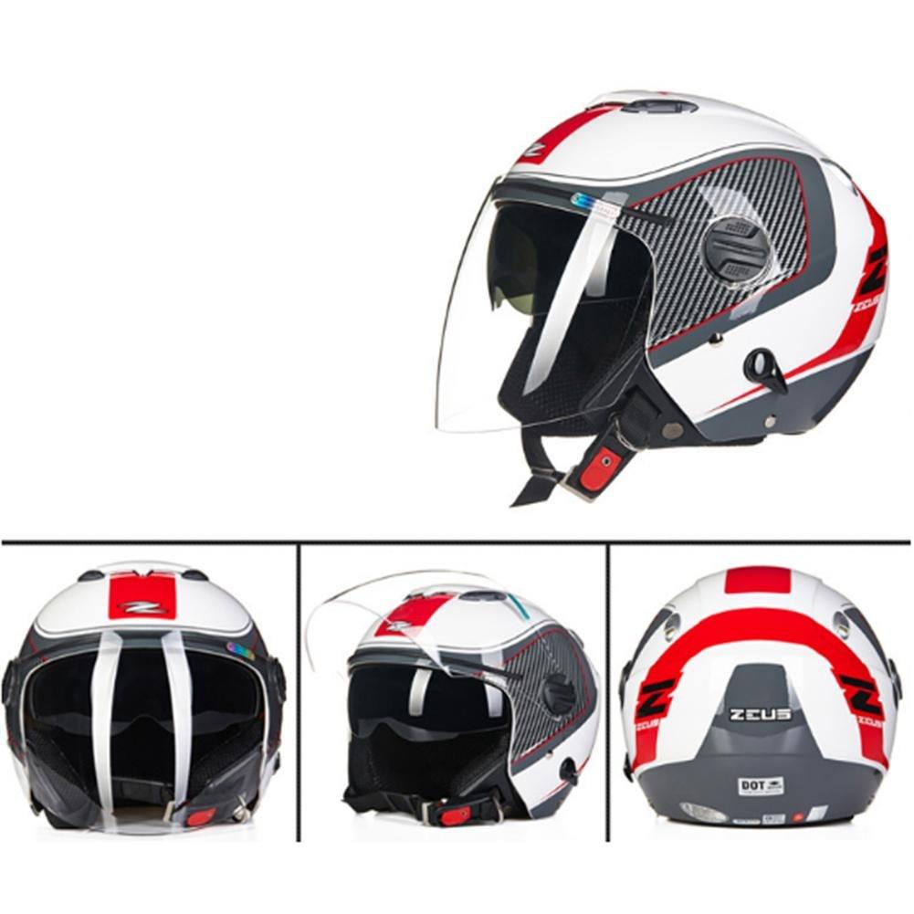 Racing Safety Bicycle Helmet para Hombres Adultos Mujeres Ventilación Porosa ECE certificación 55-64CM, 1400g: Amazon.es: Deportes y aire libre