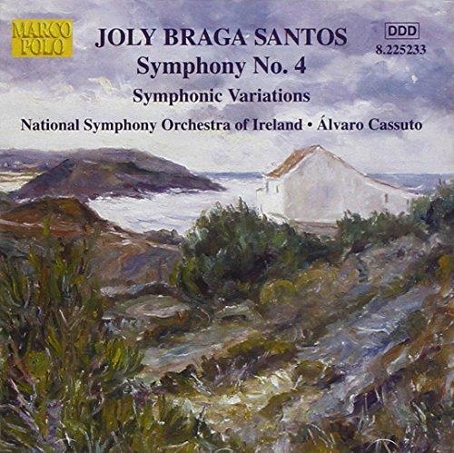 Braga Santos: Symphony No. 4 ; Symphonic Variations ()