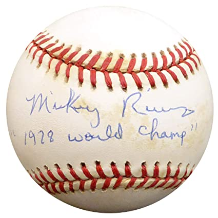 ef505fea24dbe Mickey Rivers Signed Auto AL Baseball New York Yankees 1978 World Champ -  Beckett Authentic