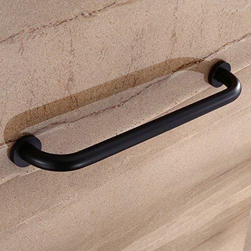 Ruddock BT42 Oil Rubbed Bronze Grab Bar Round Brass Bath Bathtub Rail European Copper Towel Bar Rack (19.6'' L) by Ruddock