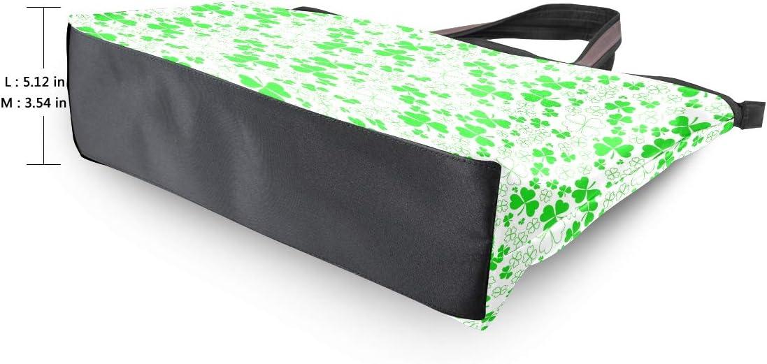Women Handle Happy St Patricks Day Satchel Handbags Tote Purse Shoulder Bag Big Capacity Handbag