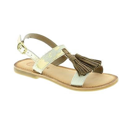 Gioseppo , Mädchen Sandalen WeißGold: : Schuhe