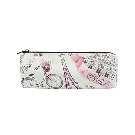 Amazon.com: KUWT Estuche para lápices de bicicleta, diseño ...