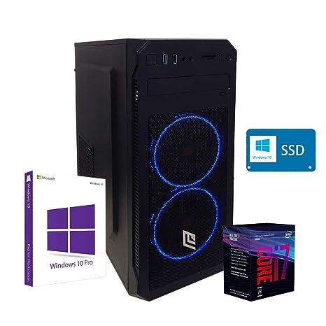 Pc de sobremesa i7 8700 Ordenador ssd,RAM 8 GB Ddr4, Ssd 480 ...