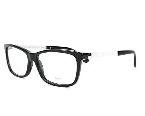3313f1ef180 Image Unavailable. Image not available for. Color  Jimmy Choo JC167 Black  Eyeglasses