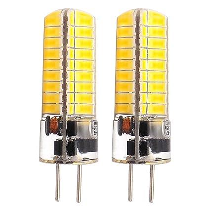 glming 5 W GY6.35 72 – 5730 SMD LED Bombilla G6,35 bi