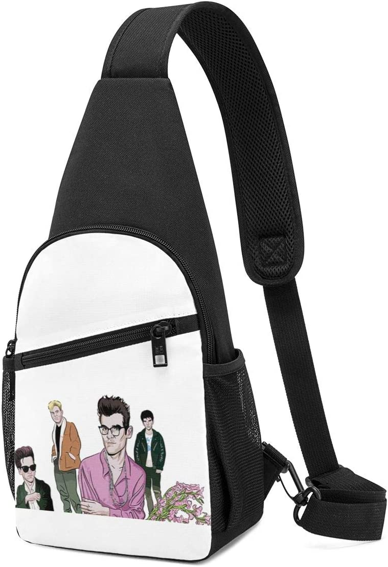 Crossbody Bag with Adjustable Shoulder Strap On Chest Lucky Person The Smiths Crossbody Bag Shoulder Bag