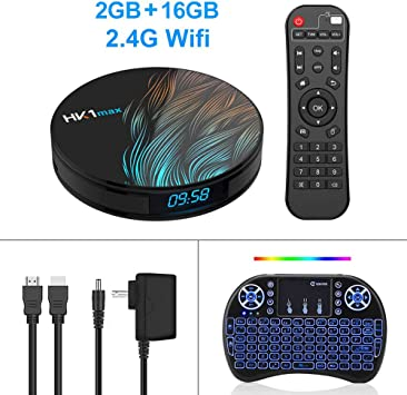 OSB STYLE HK1 MAX Smart TV Box Android 9.0 4GB 64GB RK3328 1080p 4K WiFi Google Play Netflix Set Top Box Reproductor Multimedia Android Box 9.0,G: Amazon.es: Deportes y aire libre