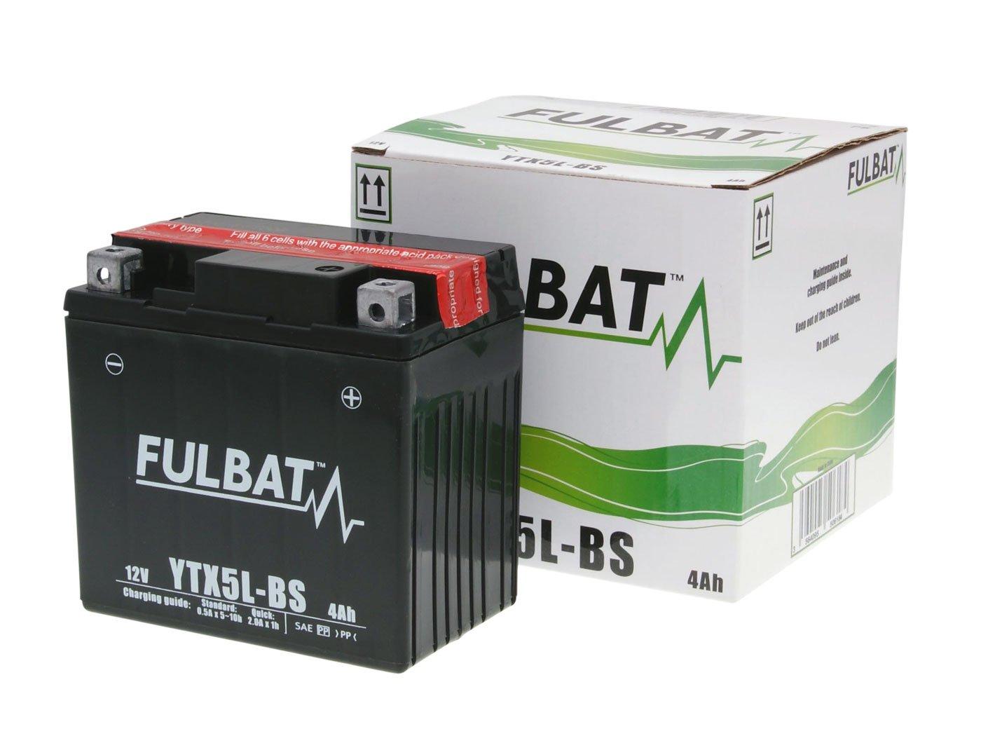 Sans entretien Batterie Fulbat YTX5L-BS MF
