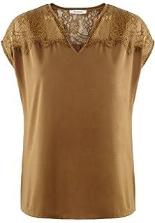 7fbc69e147694 Promod T-shirt détail dentelle  Amazon.fr  Vêtements et accessoires