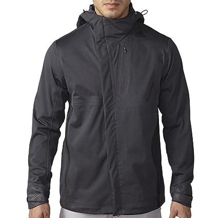 domingo Galantería Arriba  Buy Adidas Golf Men's Climaproof Prime Full Zip Rain Jacket, Dark Grey  Heather, Medium at Amazon.in