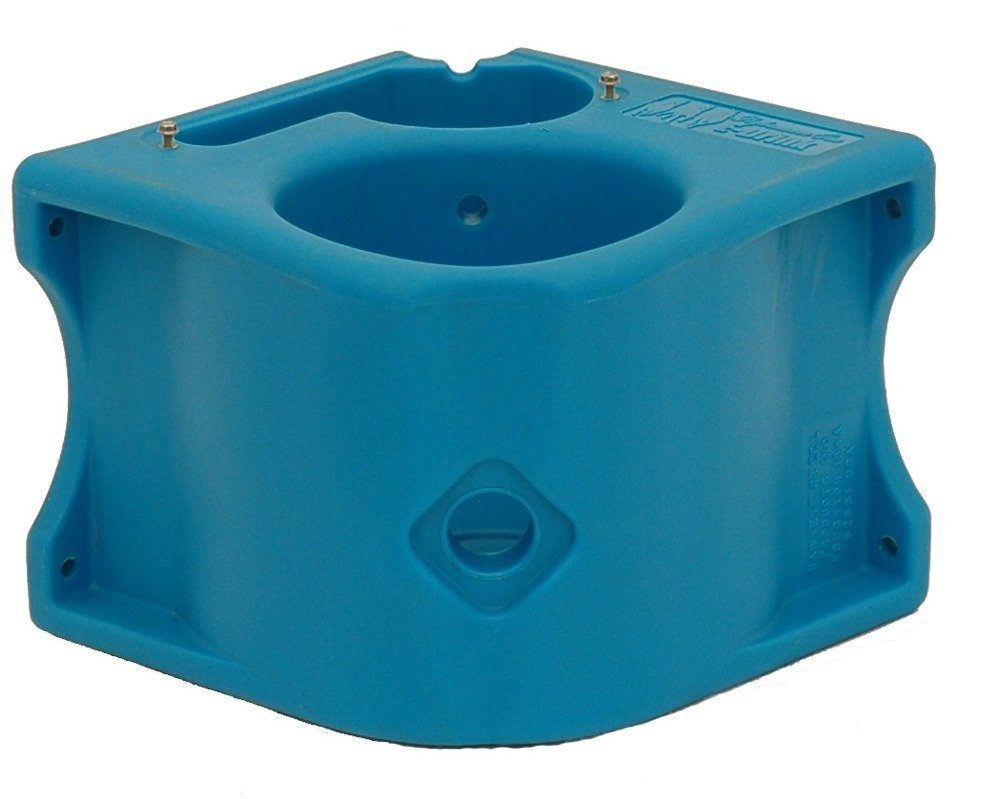 Brower MPO1BE Performance One Heated Box Stall Drinker, Blue
