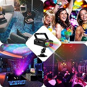 61j9IE3VeuL. SS300  - GUSODOR-Bhne-Licht-LED-Wasser-Wave-Ripple-Effect-Disco-Beleuchtung-mit-Fernbedienung-und-Musikmodus-Farbwechsel-Ozean-Wellen-Lichteffekte-fr-Zimmer-Hochzeit-Geburtstagsfeier-Weihnachten-Dekoration