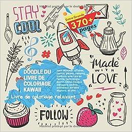 Doodle Du Livre De Coloriage Kawaii Livre De Coloriage