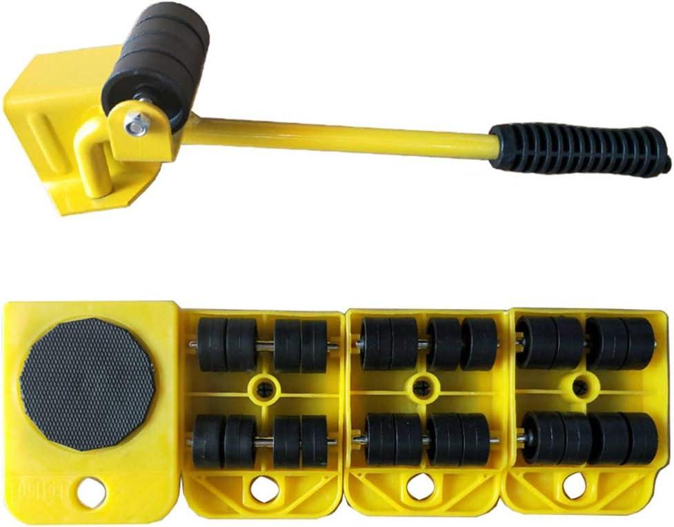 Amarillo iplusmile Levantador de Muebles Almohadillas f/áciles de Mover para sof/ás Sof/ás y refrigeradores