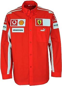 Puma – Scuderia Ferrari camisa de carreras a manga larga, 600788-01, XL: Amazon.es: Deportes y aire libre