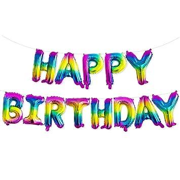 TOYLAND Globos de Feliz cumpleaños de 16