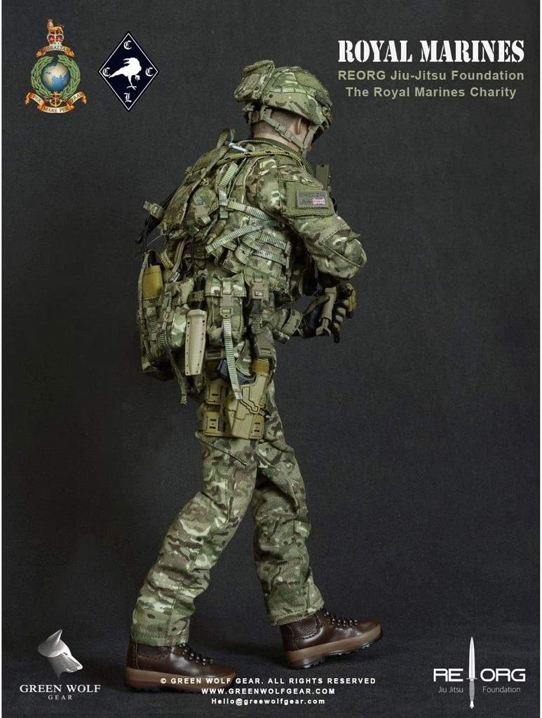LRWTY Juguetes Militares del Ejército 1/6 Escala Figura de acción, 12 Pulgadas ejército británico Limited Royal Marines Flexible Masculino Soldado Modelo Colección Gifts: Amazon.es: Juguetes y juegos