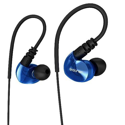 12 opinioni per Sport Auricolari, Adorer RX6 Basso In Ear Stereo Cuffie con microfono,