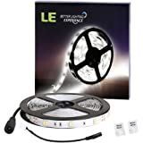 LE 5M Bande Lumineuse LED, 150 Unités de 5050 SMD LEDs, Ruban LED flexible 12V, Lumière Blanc du Jour, Non Etanche, Décoration intérieure, Eclairage design et moderne