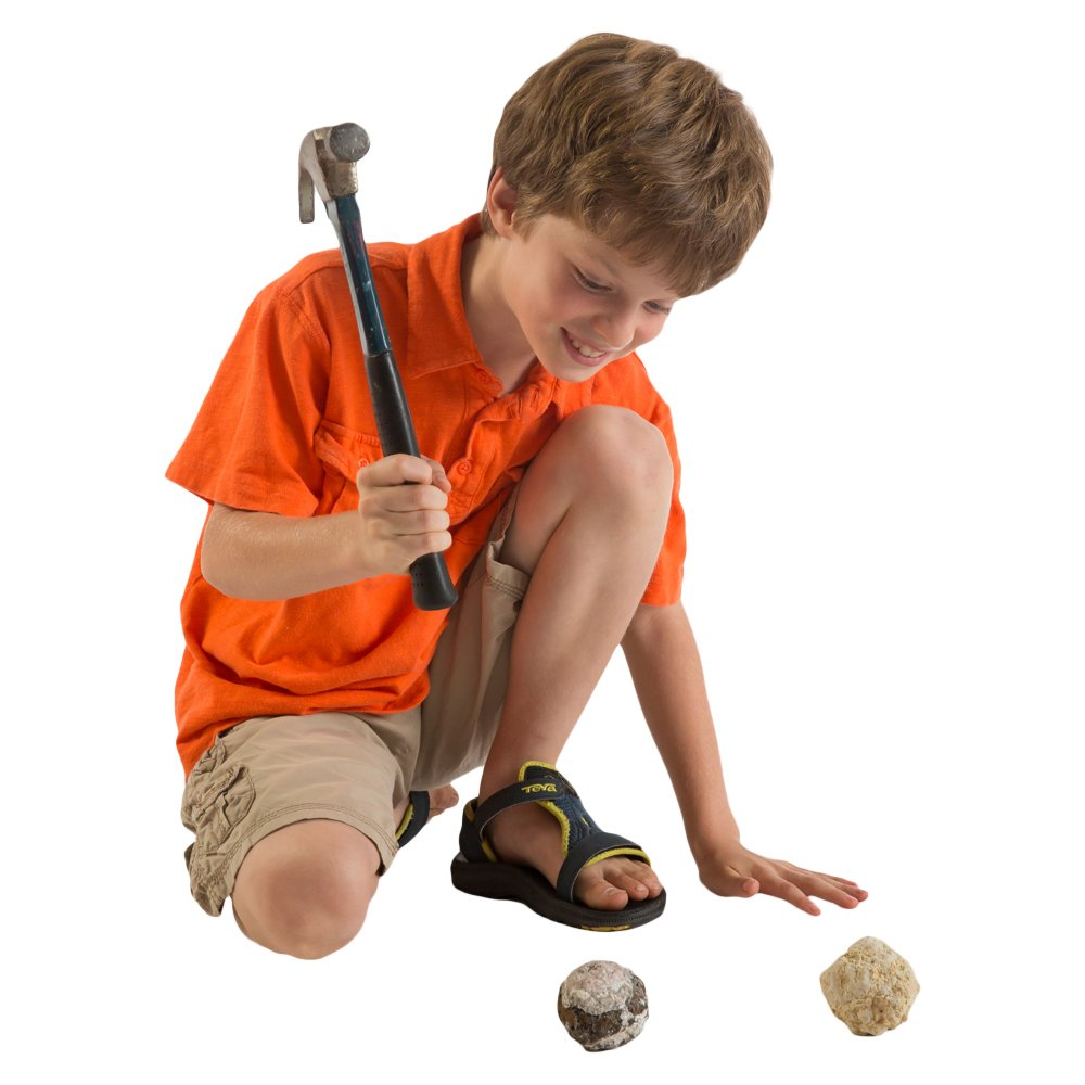 Worlds Best Geode Kit  Crack Open 15 Rocks and Find Crystals! by Discover with Dr. Cool (Image #2)