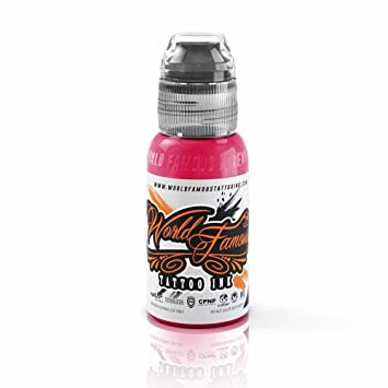 39ce1ce1ef23b Amazon.com: World Famous Tattoo Ink – Vegan-Friendly Professional Tattooing  Inks – Pink Floyd, 1 Ounce: Beauty