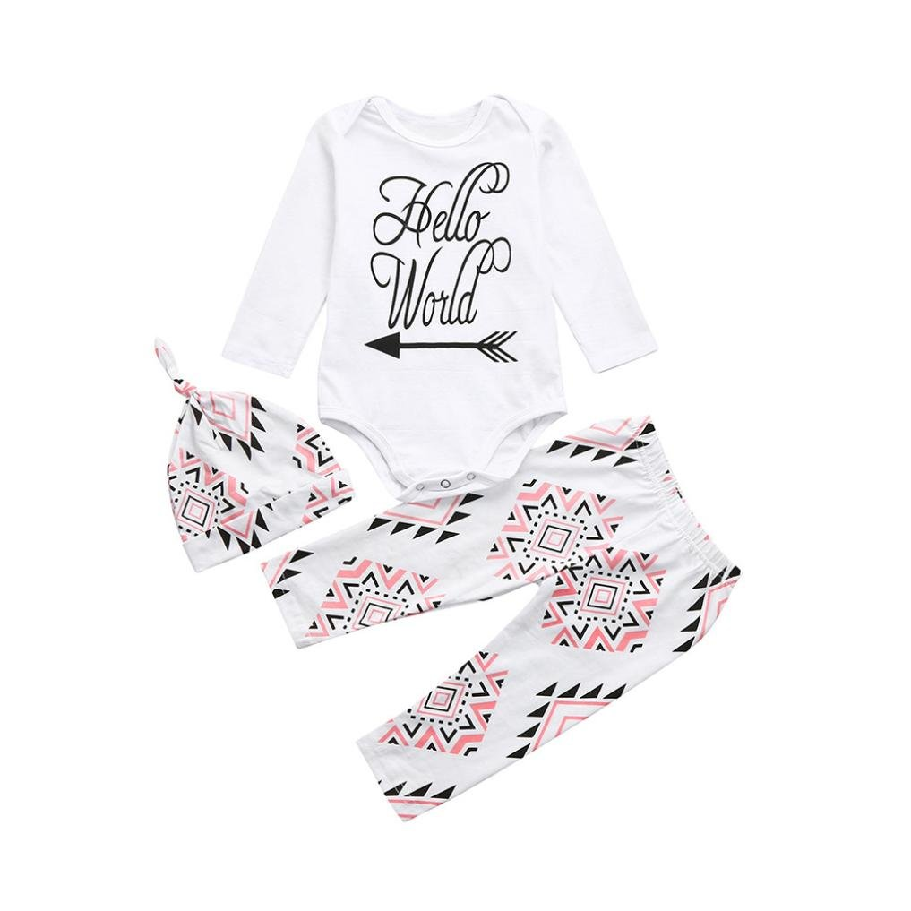 Memela TM New Fall Unisex Baby Layette Gift Set Crawling Suit Outfit
