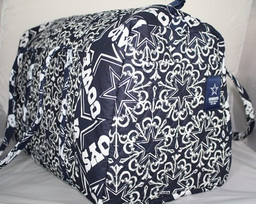 NFL Dallas Cowboys Fabric Duffle Bag by Klew