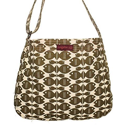 Bungalow360 Women's Accessories - Fish Collection (Messenger Bag)