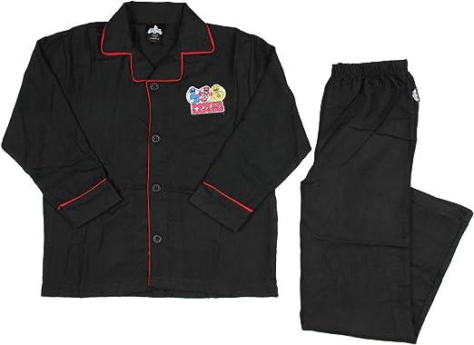 INTIMO Power Rangers Longsleeve Coat Front Pajama Set