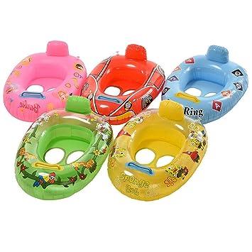 Sdkmah9 1 Flotador Hinchable para Piscina para Niños y Bebés ...