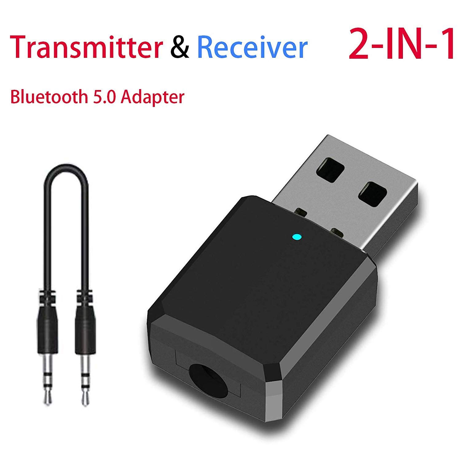 Transmisor Receptor Bluetooth 5.0 AEELUE