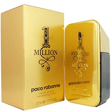 Amazoncom Paco Rabanne One Million Eau De Toilette Spray For Men
